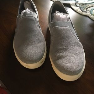 Ryka suede slip on sneakers